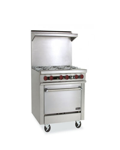 Therma-tek 36'' Gas Restaurant Range - Commercial Gas Range