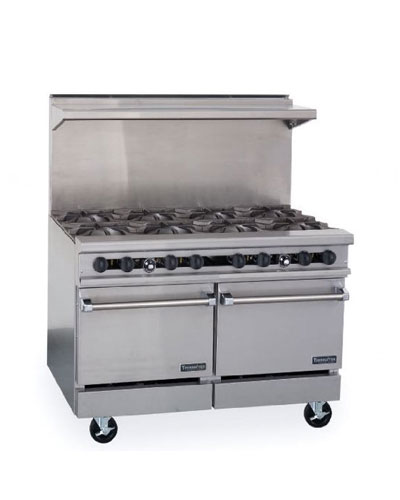 Therma-tek Gas Restaurant Range - Commercial cooking range (48 Inch)
